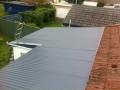 Colourbond roof after