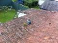 Colourbond roof before