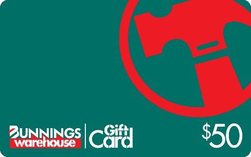 $50 Bunnings Gift Card